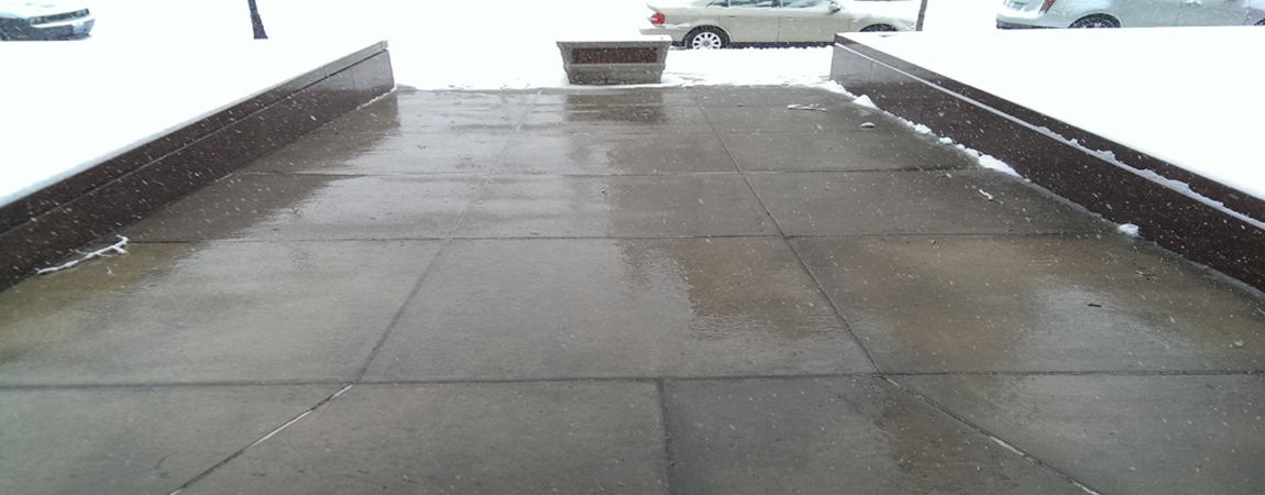 You want snow melted off your driveway or sidewalks?